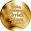 Česká jména - Zbyšek - zlatá medaile