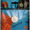 0,50 Pfund Mince Londýn 2012 - Šerm UN