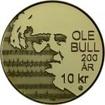 10 Kronen Mince Ole Bull PP