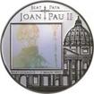 5 Diners Sitříbrná mince - blahořečení Jana Pavlal II. PP
