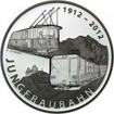 20 Franků Střibrná mince 100 let železnice PP