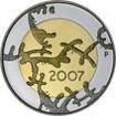 5 EUR CuNi 90 roků nezávislosti PP