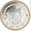 5 EUR CuNi Historické provincie: Tavastia PP