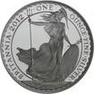2 Pfund Stříbrná mince 1 Oz Britannia PP 2012