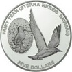 5 dolarů Stříbrná mince Rybák PP