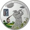 5 dolarů Stříbrná mince PGA Tour - Golfový Club PP