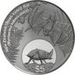 5 dolarů Stříbrná mince Netopýr PP