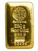 Zlatý slitek Argor Heraeus 250 gramů