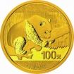 Zlatá mince Panda 8 gramů 2016