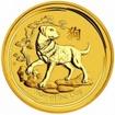 Zlatá mince Rok psa, Lunární serie II. 1/20 unce
