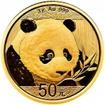 Zlatá mince Panda 3 gramy 2018