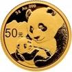 Zlatá mince Panda 3 gramy 2019