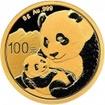 Zlatá mince Panda 8 gramů 2019