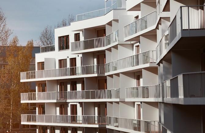 Rezidenční komplex ve tvaru vlnovky