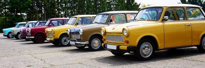 První trabanty sjely z výrobní linky 7. 11. 1957