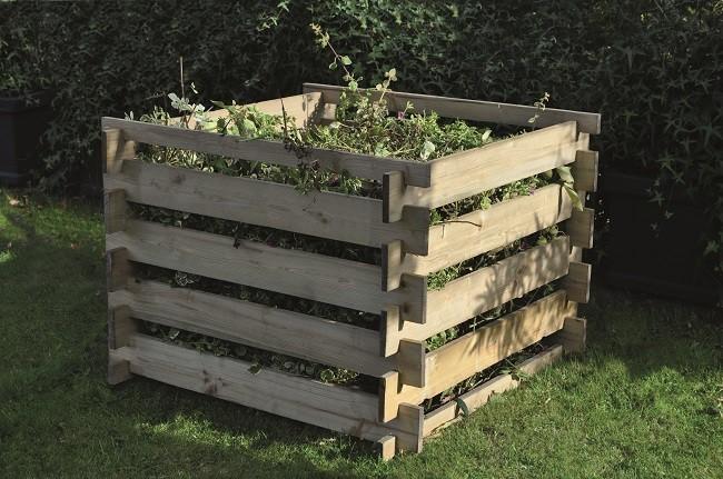 Kompostér ze dřeva