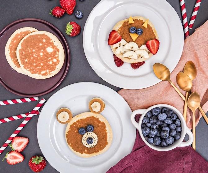 Hravé snídaně, které