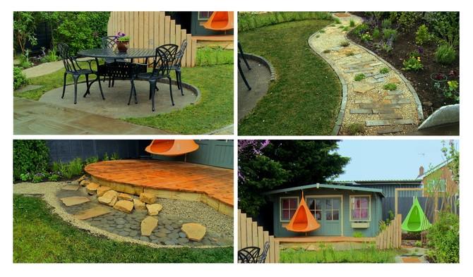 Výběr zvolených prvků pro proměnu zahrady