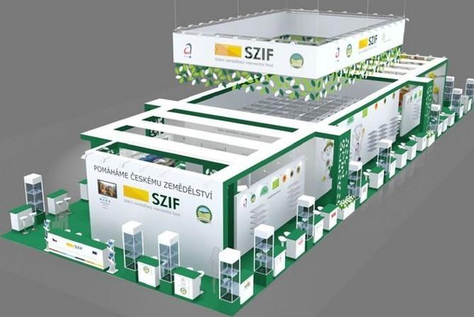 SZIF se veletrhu pravidelně účastní od roku 2004