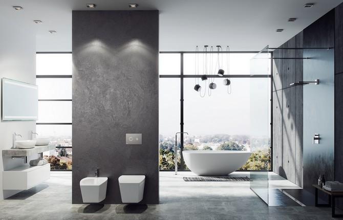 Součástí nových koupelen bývá toaleta a bidet