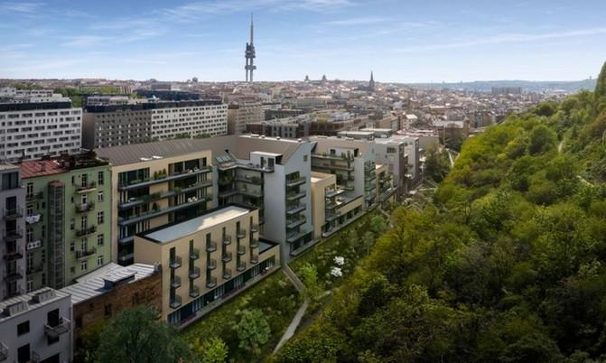 Žižkovské pavlače pojmou celkem 141 bytů