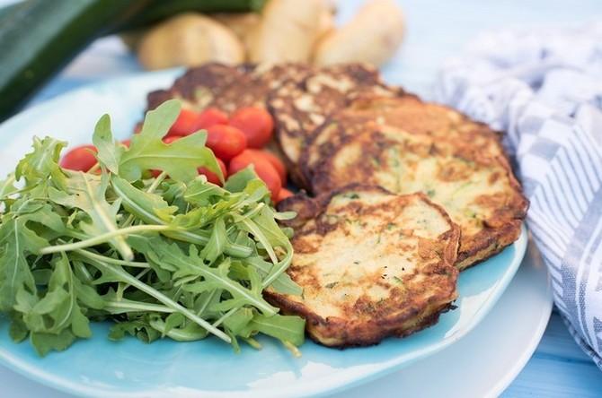 Recept na cuketovo-bramborové placky