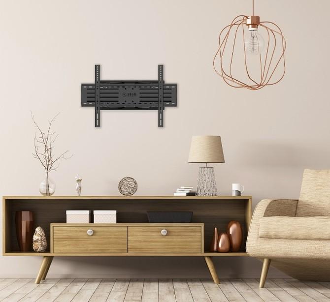 Trendem je umístění televizoru na stěnu
