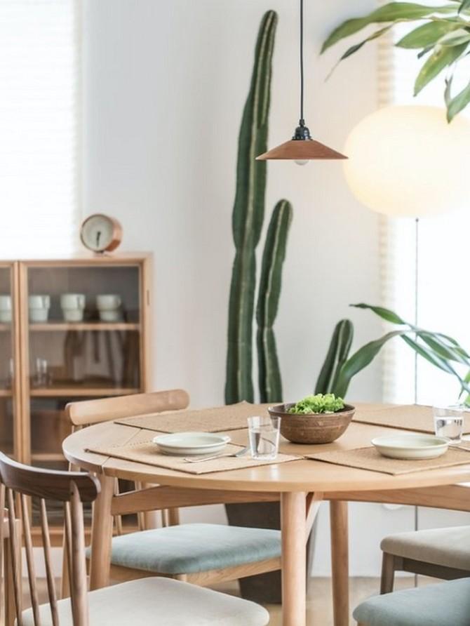 V malé kuchyni využijte subtilní nábytek