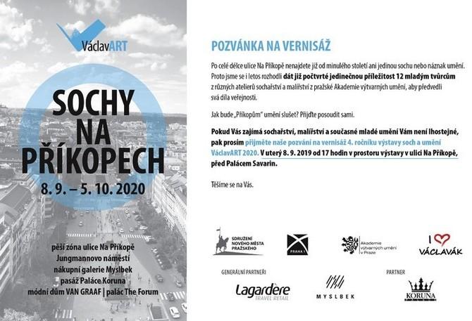 Výstava odstartuje vernisáží 8. září