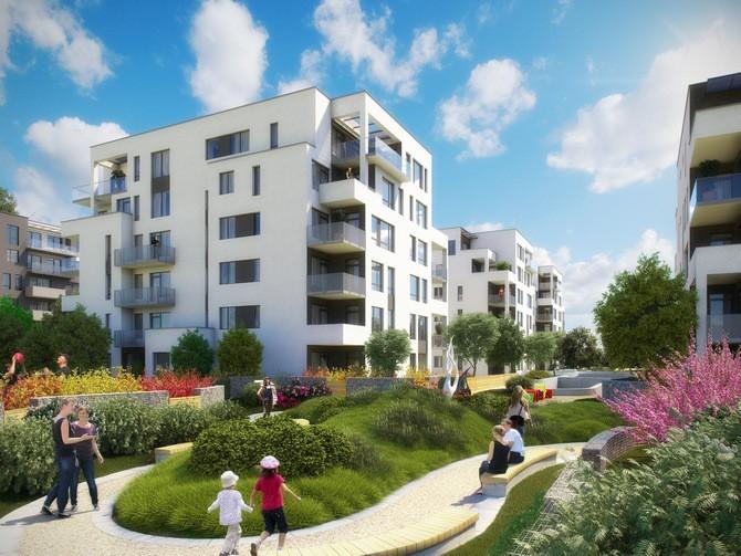 Finský styl bydlení k prohlédnutí ve vzorovém bytě