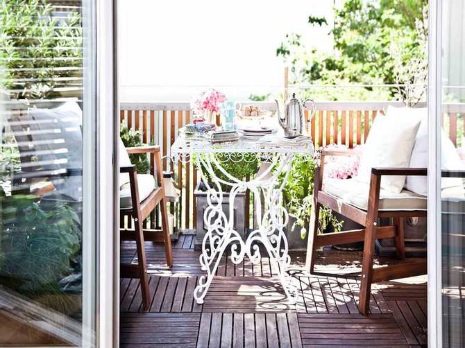 Pohoda na balkoně jako na dovolené