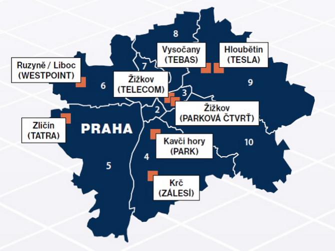 Budoucnost rozvoje Prahy totiž leží především na brownfieldech