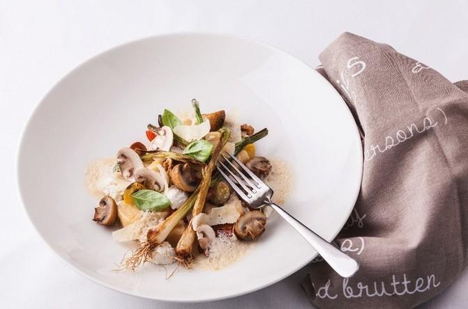 Recept gnocchi s houbovou omáčkou