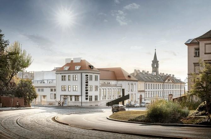 Původně industriální budova se mění