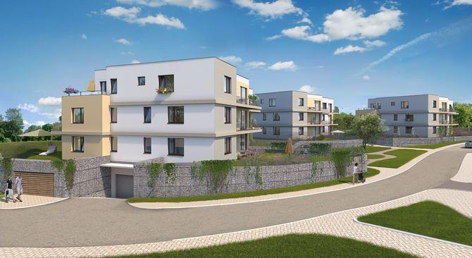 Nové byty na Beránku