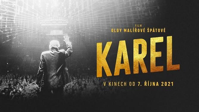Vizuál k premiéře filmu Karel