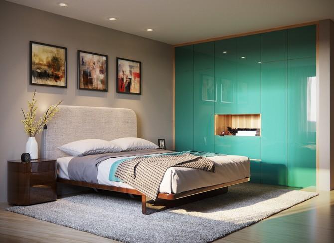 I v ložnici si můžete připadat jako na pobřeží tyrkysového moře