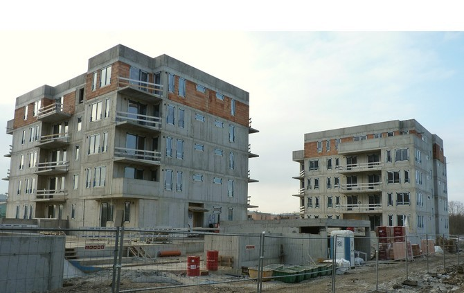Pori zahrnuje celkem 82 bytových jednotek