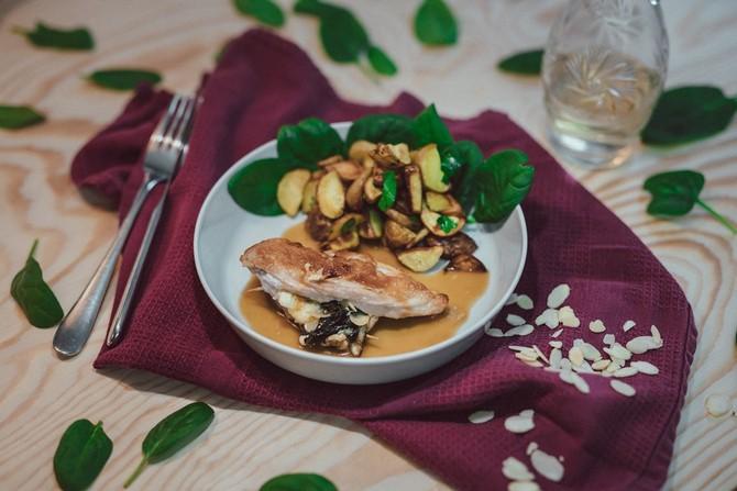 Maso je křehké s jemnou chutí a velkou variabilitou