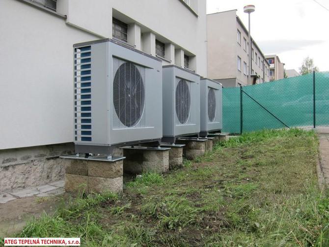 Tepelná čerpadla ušetří i v panelových domech