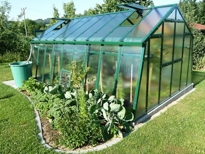 Skleník, přání mnoha zahradníků