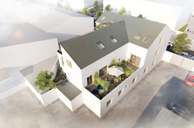 Byty budou ideální pro startovací bydlení