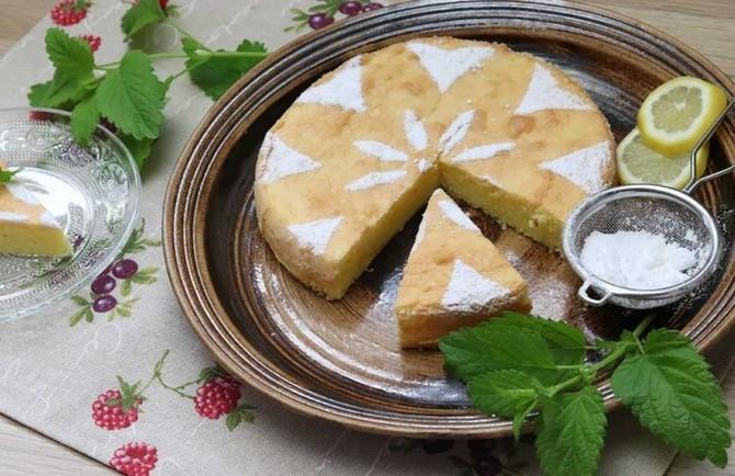 Citronová babeta chutná k snídani i svačině