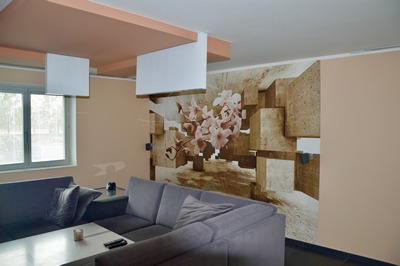 Tapety v interiéru