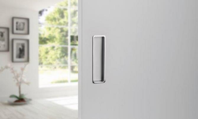 Posuvné dveře s působivým otevíráním
