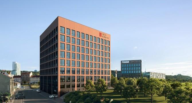 Dispoziční řešení budovy má vysokou flexibilitu