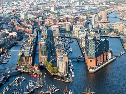 V Hamburku dokázali přeměnit nefunkční přístav