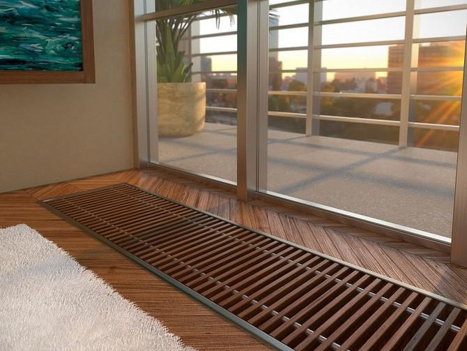 Podlahové konvektory - minimalistické řešení