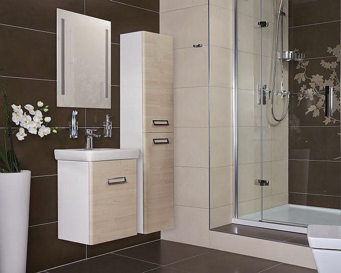 O velikosti koupelny rozhoduje úložný prostor