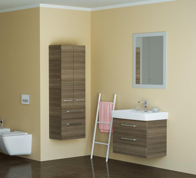 Malé koupelně prospějí světlé barvy
